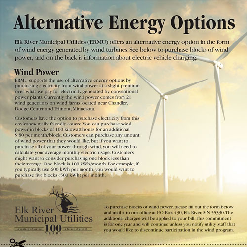 alternative energy flyer