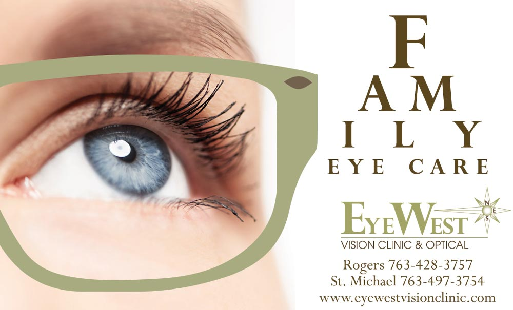 vision ad for family eye care