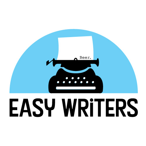 logo design for Easy Writers - a typewriter with