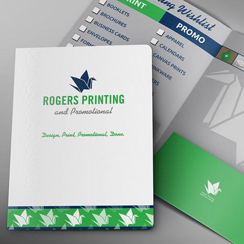 folder for print shop