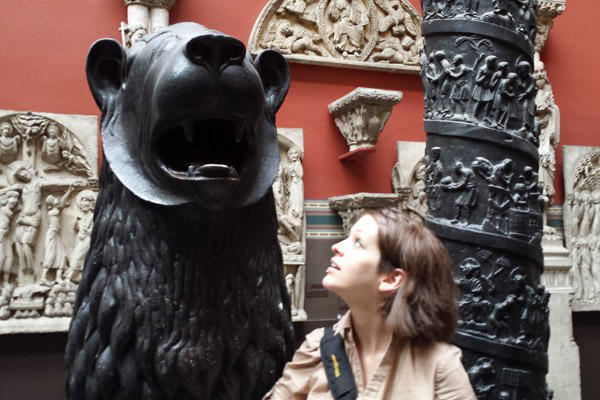 V&A Museum, found a bear